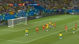 VIDEO: Menang 2-1, Belgia Pulangkan Brasil dari Piala Dunia