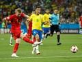 Babak Pertama, Brasil Tertinggal 0-2 dari Belgia