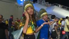 VIDEO: Kekecewaan Fan Brasil dan Harapan Pendukung Belgia