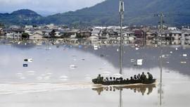 Hujan Lebat Mendera Jepang, 38 Orang Tewas