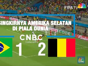 VIDEO: Habisnya Wakil Amerika Selatan di Piala Dunia 2018