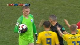 VIDEO: Pickford, Tembok Penjaga Asa Inggris Juara Piala Dunia