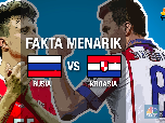 VIDEO: Fakta Menarik Jelang Rusia vs Kroasia