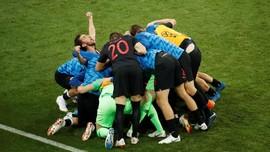 Menang Adu Penalti, Kroasia ke Semifinal Piala Dunia 2018