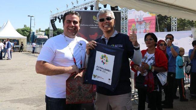Goyang 'Maumere', Sosialisasi Asian Games 2018 di Yordania