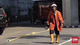 Korban Kebakaran Gedung Kemenhub Diduga Tewas Karena Asap