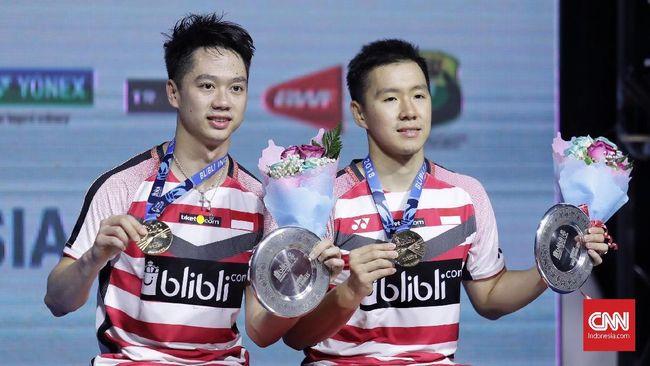 Kevin/Marcus Raih Total Rp6,8 Miliar dari Turnamen 2018