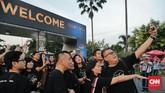 Celine Dion mengadakan konser di Sentul International Convention Center (SICC) pada Sabtu (7/7), setelah sebelumnya mengadakan konser di Singapura. (CNN Indonesia/Adhi Wicaksono)