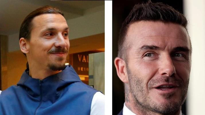 Karena Beckham, Ibrahimovic Siap ke Wembley Berkaos Inggris