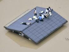 41 Orang Tewas & Puluhan Hilang akibat Banjir di Jepang