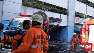Polisi Tunggu Gedung Kemenhub Bebas Asap Cari Sebab Kebakaran