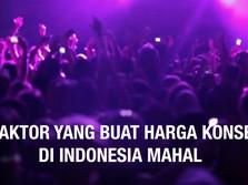 VIDEO: 5 Faktor yang Buat Harga Konser di Indonesia Mahal