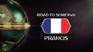 VIDEO: Perjalanan Prancis Menuju Semifinal Piala Dunia 2018