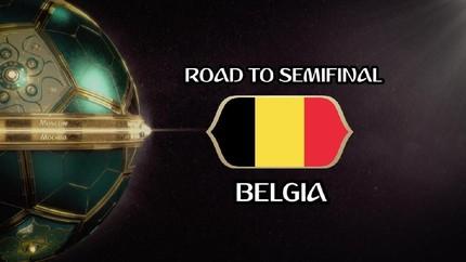 VIDEO: Perjalanan Belgia Menuju Semifinal Piala Dunia 2018