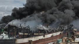 Polisi Periksa Kapten dan ABK Soal Kebakaran di Benoa