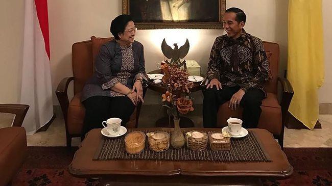 Jokowi ke Mega di Tahun Politik: Selamat Ulang Tahun ke-71+1