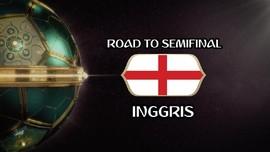 VIDEO: Perjalanan Inggris Menuju Semifinal Piala Dunia 2018