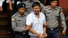 Hakim Sakit, Myanmar Tunda Vonis Wartawan Peliput Rohingya