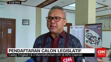 Pendaftaran Calon Legislatif