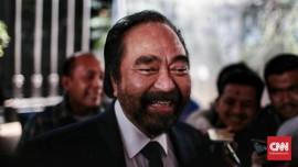 Surya Paloh Bersyukur NasDem dapat Tiga Menteri dari Jokowi