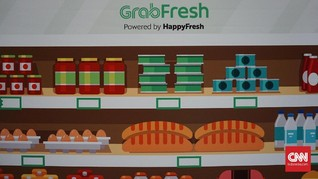 Grab Tawarkan Diskon 30 Persen Belanja Kebutuhan Pokok