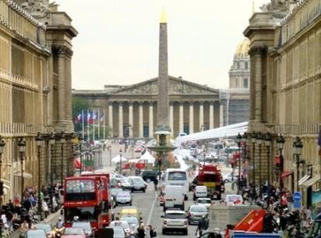 Di Paris aturanganjil-genapterhitung berhasil.Foto: Pool (IndiaTimes)