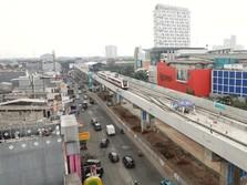 Lewati Mal, Ini Rute LRT Jakarta yang Diresmikan 10 Agustus