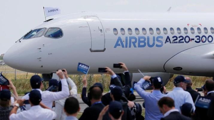 Indonesia is the biggest buyer Airbus dan masih ada order 200 unit pesawat.