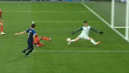 VIDEO: Babak Pertama Seru, Prancis vs Belgia Masih Imbang