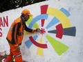 Anies Tak Perintahkan Pasukan Oranye Bikin Mural Asian Games