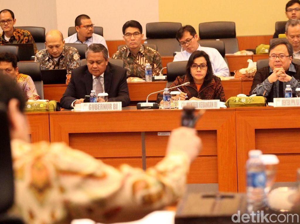 Hasil rapat panja RAPBN tahun anggaran 2019 pun diputuskan oleh pihak Badan Anggaran DPR.