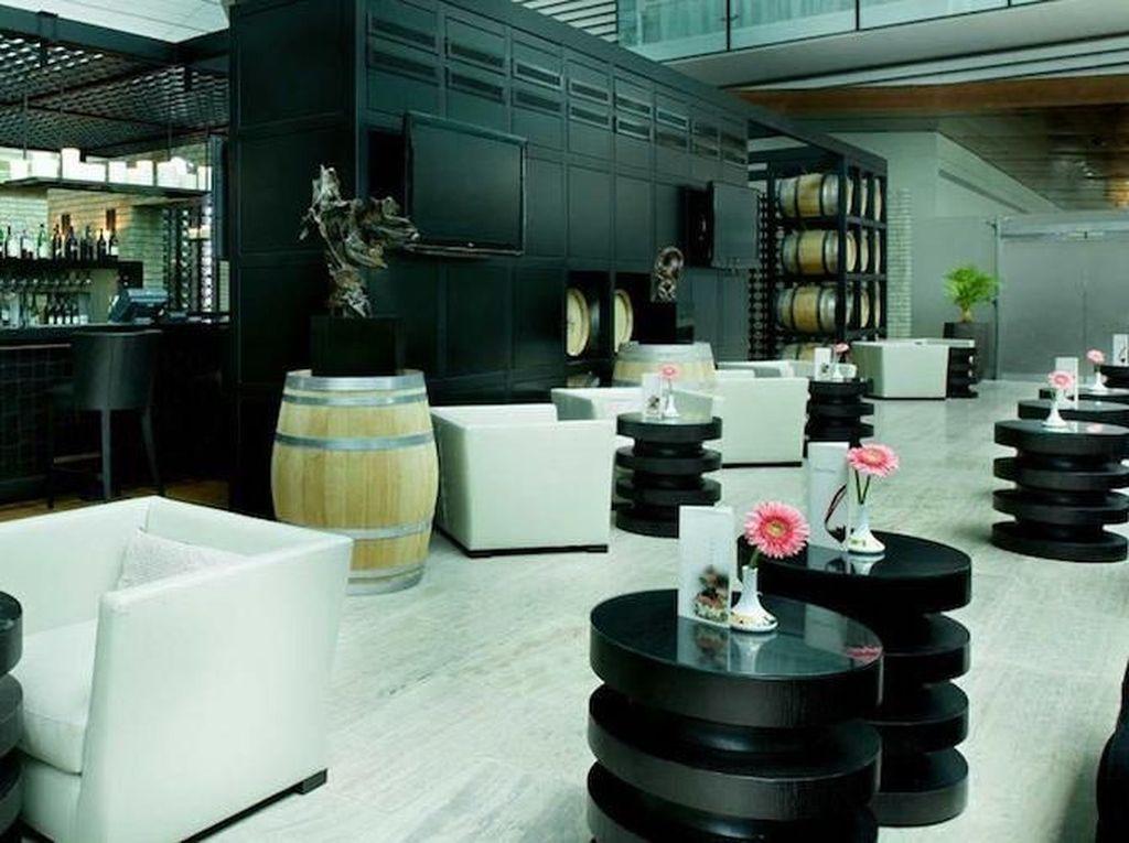 Lounge B Terminal 3, Dubai International Airport. Lounge ini bisa dinikmati dengan tarif sebesar US$ 38,67. Istimewa/Dubai International Airport.