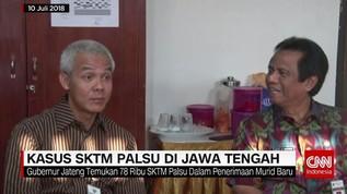 Kasus SKTM Palsu di Jawa Tengah
