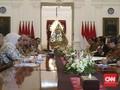 KPU Temui Jokowi Laporkan Hasil Pilkada Serentak 2018
