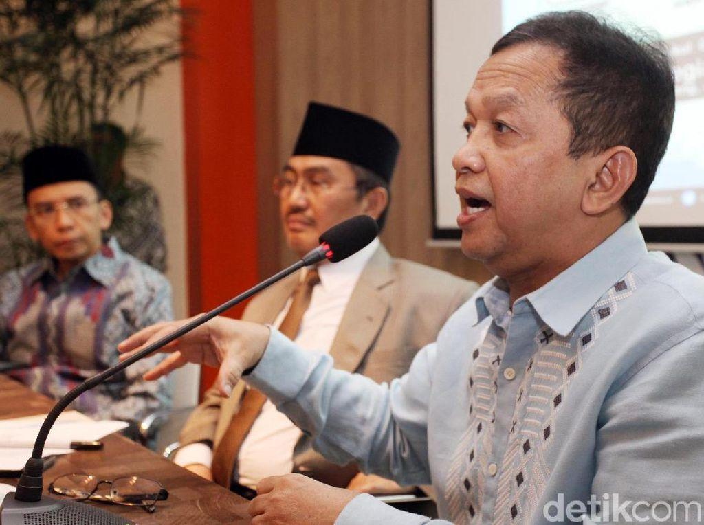 Diskusi tersebut juga membahas mengenai moderasi Islam.