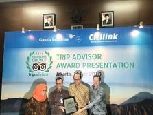 Lagi, Garuda Masuk Jajaran Maskapai Terbaik dari TripAdvisor