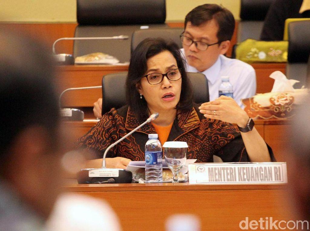 Menteri Keuangan, Sri Mulyani menjelaskan kondisi perekonomian Indonesia saat ini.