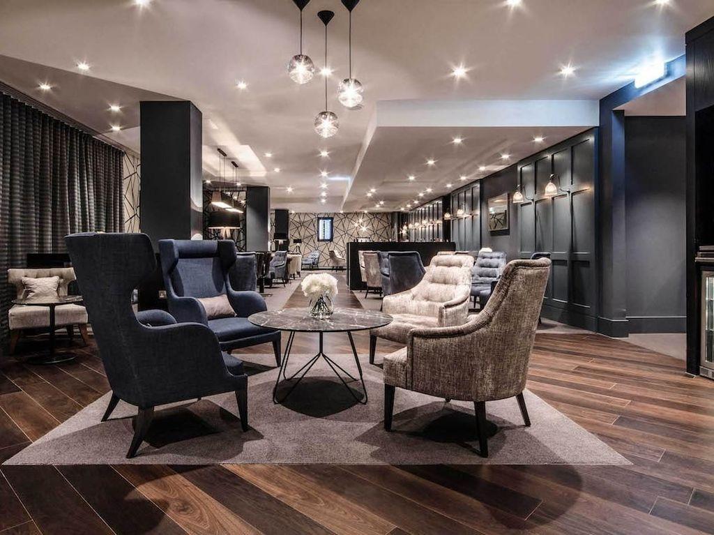 Clubrooms North Terminal, London Gatwick Airport. Lounge ini bisa dinikmati dengan tarif sebesar US$ 67. Istimewa/Clubrooms North Terminal.