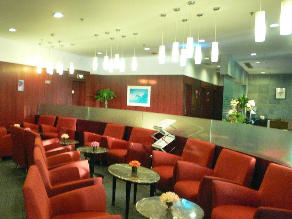 BGS Premier Lounge, Terminal 2, Beijing Capital Internasional Airport. Lounge ini bisa dinikmati dengan tarif sebesar US$ 28,76. Istimewa/BGS Premier Lounge.