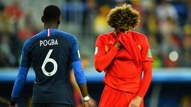 FOTO: Prancis 'Bunuh' Generasi Emas Belgia di Semifinal