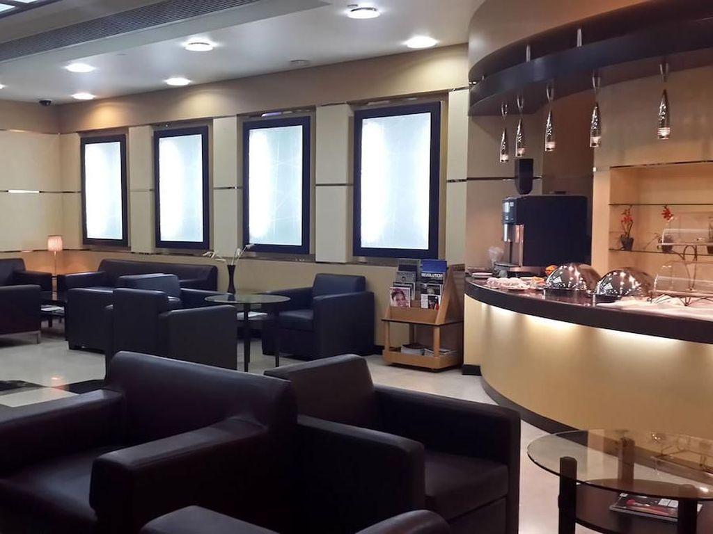 Al Ghazal Lounge by Plaza Premium Lounge, Terminal 2, Abu Dhabi International Airport. Lounge ini bisa dinikmati dengan tarif sebesar US$ 28,76. Istimewa/Al Ghazal Lounge by Plaza Premium.