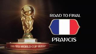 VIDEO: Jalan Prancis Menuju Final Piala Dunia 2018