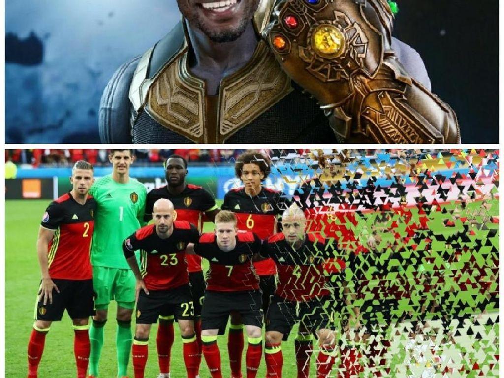 Gol tunggal Umtiti berhasil gagalkan mimpi Belgia ke final Piala Dunia. Foto: Istimewa