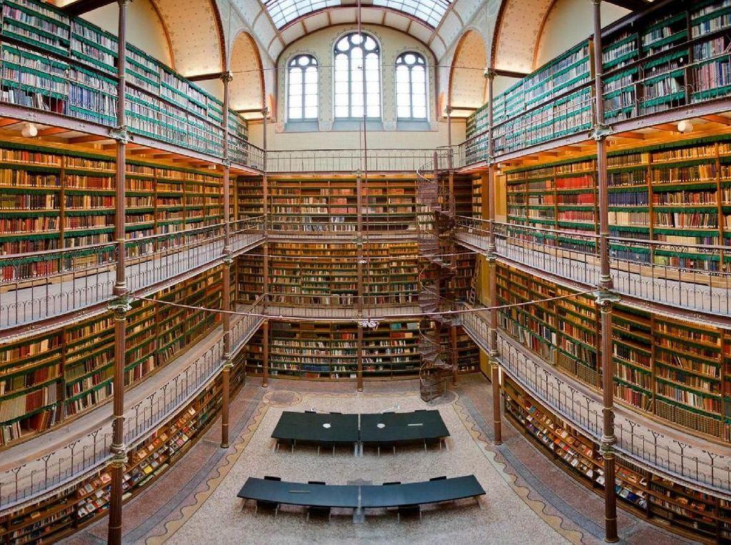 Foto: Perpus Seni Terbesar dan Terbesar di Belanda