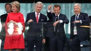 Presiden Prancis Janji Hadir di Final Piala Dunia 2018