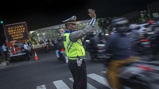 Persija Vs Persib, Polisi Rekayasa Lalu Lintas di 7 Jalur