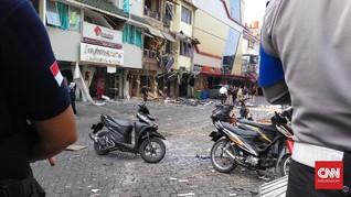 Korsleting Listrik dan Gas Bocor Picu Ledakan di Grand Wijaya