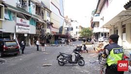 Saksi Rasakan Getaran Ledakan Tabung Gas Hingga 50 Meter