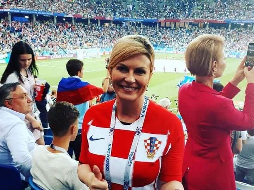 Kolinda Grabar-Kitarović lahir pada 29 April 1968. Dia menjabat sebagai presiden Kroasia sejak 2015 (Foto: Dok. Matooke Republic News)