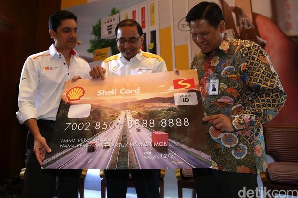 Bank Mandiri-Shell Luncurkan Shell Fleet Card Prabayar
